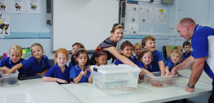 Ocean Life an Interactive School Incursion