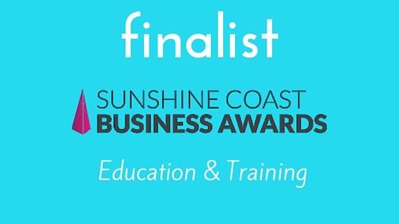 ocean life education a sunshine coast business award finalist 2015