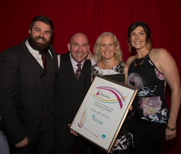 Ocean Life Education winner of the 2015 Sunshine Coast Business Award