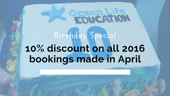 ocean life 10th birthday special