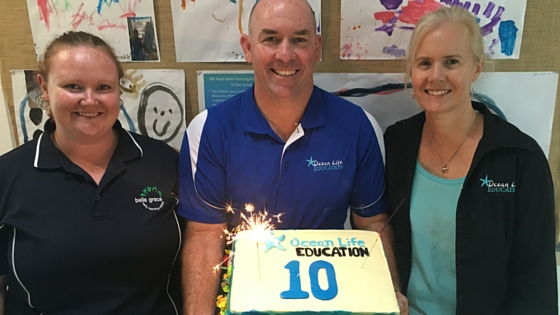 ocean life education celebrates 10th birthday