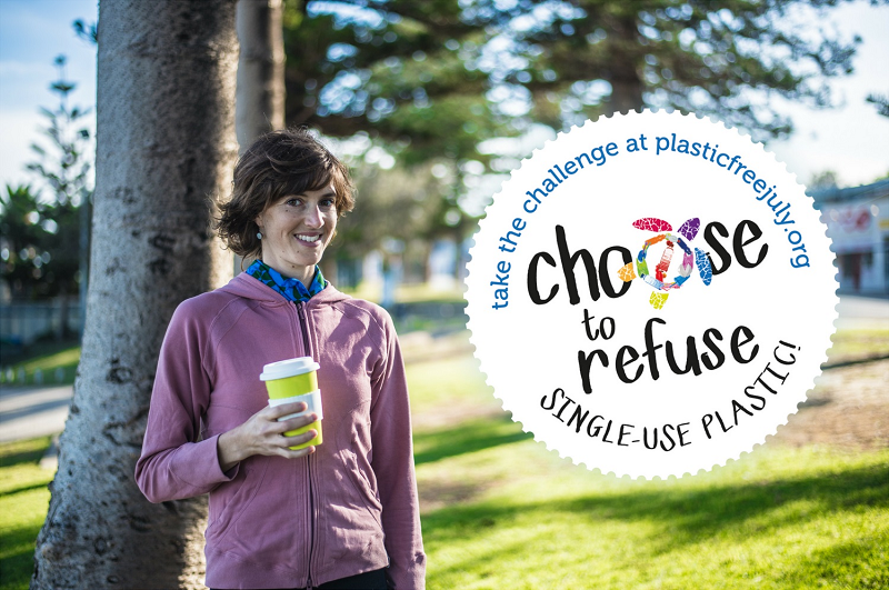 Choose to Refuse Plastic Free July